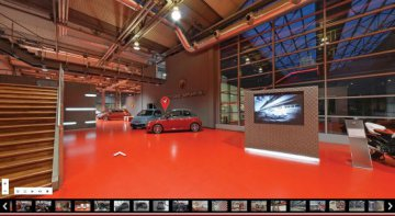 Weltpremiere für Abarth Virtual Tour