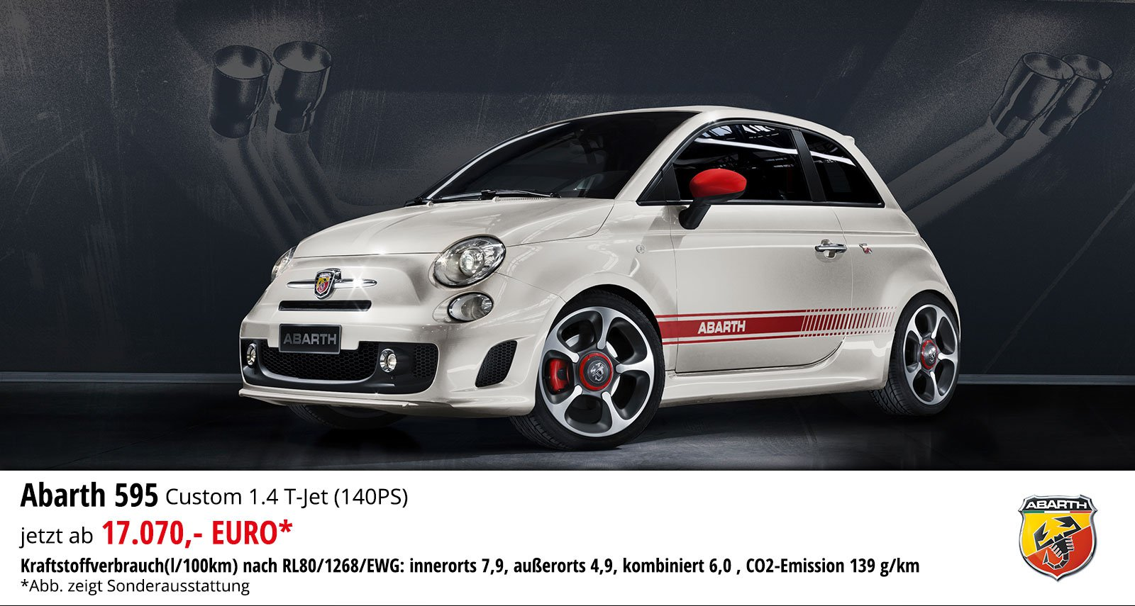 Abarth 595 Custom 1.4 T-Jet